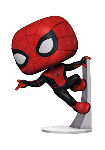 Funko Pop! Marvel: Spider-Man Far from Home - Spider-Man Upgraded Suit, Multicolor, Standard