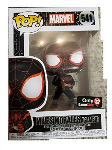 Funko Pop! Marvel Spider Man Gamer Miles Morales Exclusive