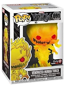 Funko Pop! Marvel Venomized Human Torch Exclusive Vinyl Figure