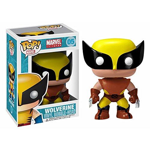 Funko Pop Marvel Wolverine Brown Suit Exclusive Vinyl Bobblehead Figure