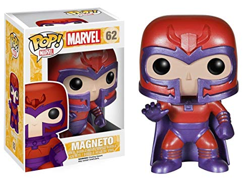 Funko Pop Marvel: X-Men - Magneto Vinyl Figure Item No. 4469 + Protective Case
