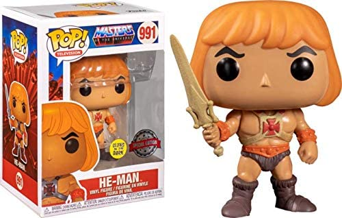 Funko Pop Masters of The Universe He-Man with Sword Glow