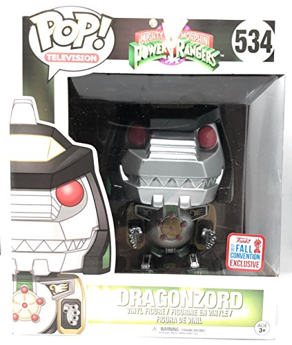 Funko Pop! Mighty Morphin Power Rangers Dragonzord 6 Inch 2017 Fall Convention Exclusive