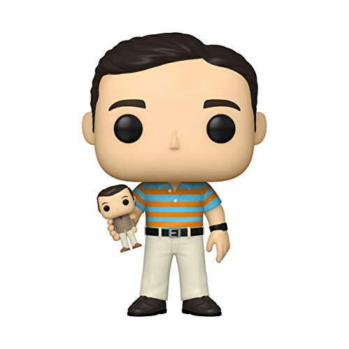 Funko Pop! Movies: 40 Year Old Virgin - Andy Holding Oscar (Styles May Vary)