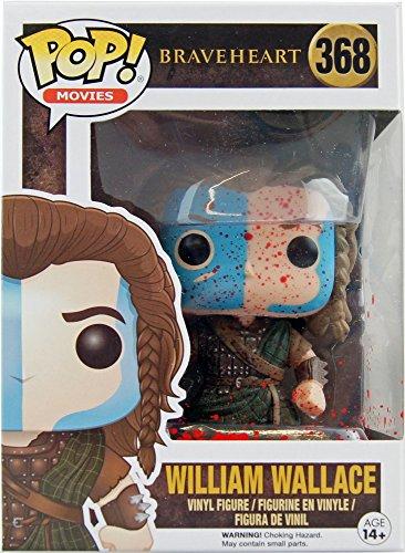 Funko Pop! Movies Braveheart William Wallace #368 (Blood Splattered Exclusive)