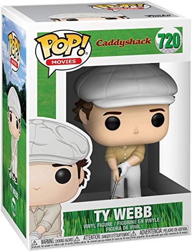 Funko Pop! Movies: Caddyshack- Ty (Styles May vary), Multicolor