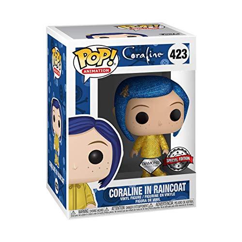 Funko Pop! Movies: Coraline - Coraline in Raincoat Diamond Edition (Exclusive)