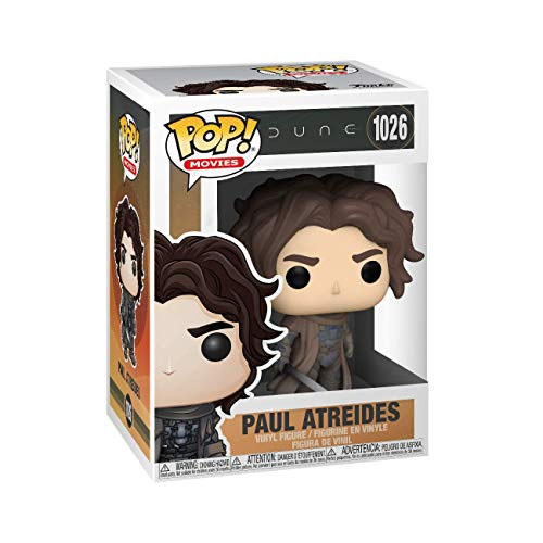 Funko Pop! Movies: Dune - Paul Atreides (Style May Vary), Multicolour, 3.75 inches