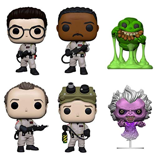 """Funko Pop! Movies: Ghostbusters Series 2 Collectible Vinyl Figures, 3.75"""" (Set of 6)"""