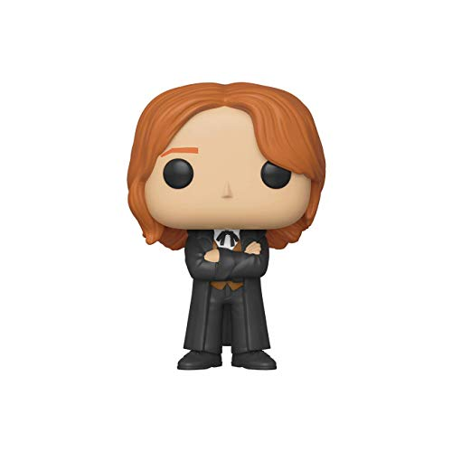Funko Pop! Movies: Harry Potter - Fred Weasley (Yule),Multicolor,3.75 inches