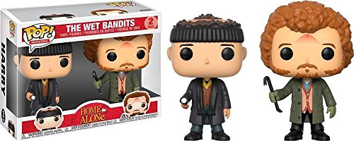 Funko Pop Movies Home Alone Wet Bandits Harry and Marv Exclusive Set