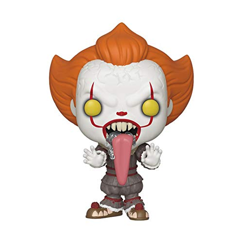 Funko Pop! Movies: It 2 - Pennywise with Dog Tongue, Multicolor, us one-Size
