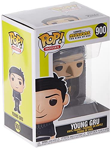 Funko Pop! Movies: Minions 2 - Young Gru, Multicolor, 3.75 inches
