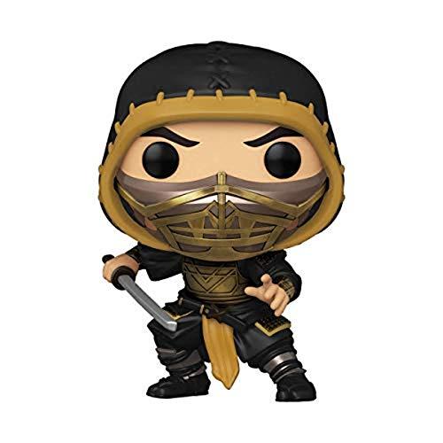 Funko Pop! Movies: Mortal Kombat - Scorpion Vinyl Figure (Styles May Vary)