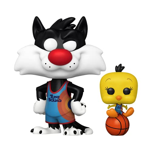 Funko Pop! Movies: Space Jam, A New Legacy - Slyvester and Tweety