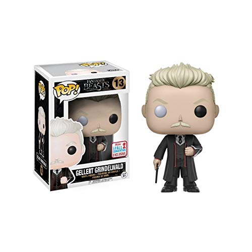 Funko Pop! NYCC Fantastic Beasts Gellert Grindelwald, Limited Edition Fall Convention Exclusive