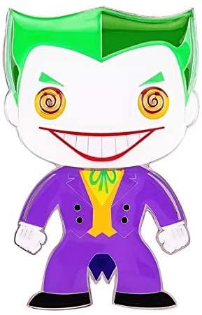 Funko Pop! Pin: DC Super Heroes - The Joker Premium Enamel Pin