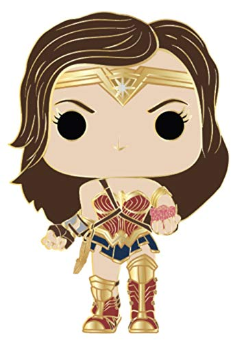 Funko Pop! Pin: DC - Wonder Woman (Styles May Vary) Multicolor, 3.75 inches