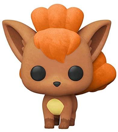 Funko Pop! Pokemon #580 Flocked Vulpix (2020 Summer Convention Exclusive)