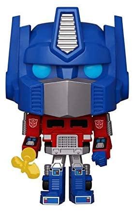 Funko Pop! Retro Toys #44: Transformers - Optimus Prime with Energon Axe, GameStop Exclusive
