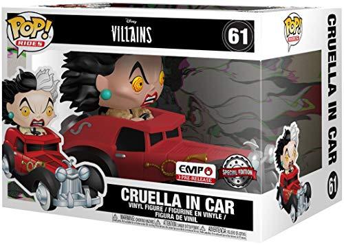 Funko Pop! Rides Disney 101 Dalmations Cruella in Car Exclusive