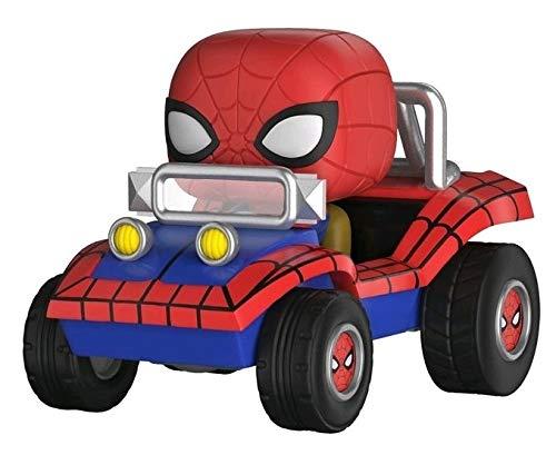 Funko Pop Rides Marvel Spider-Man with Spider Mobile Bobblehead Figure