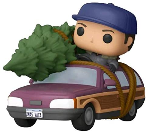 Funko Pop! Rides: National Lampoon's Christmas Vacation Clark Griswold with Station Wagon Exclusive Vinyl Figure #90