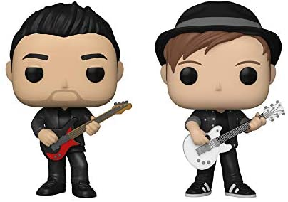 Funko Pop! Rocks Fall Out Boy Set of 2: Patrick Stump and Pete Wentz