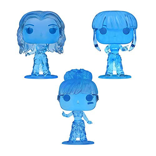 Funko Pop! Rocks TLC Set of 3 Chase: Chilli, T-Boz and Left Eye - Translucent Blue Ice Figures