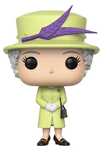 Funko Pop! Royals: Royals - Queen Elizabeth II Action Figures, Multicolor, Standard