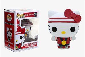 Funko Pop! Sanrio: Hello Kitty Sports - Gold Medal Hello Kitty, Multicolor, (Model: 48694)
