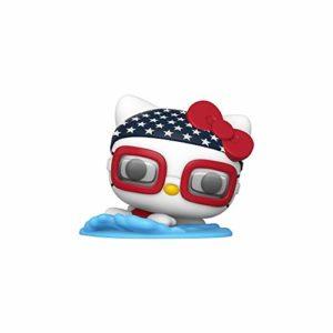 Funko Pop! Sanrio: Hello Kitty Sports - Swimming Hello Kitty, Multicolor, Model:48692