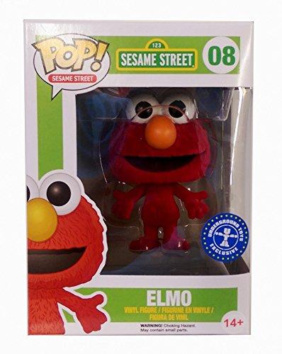 Funko Pop Sesame Street Elmo Exclusive Flocked Vinyl Figure