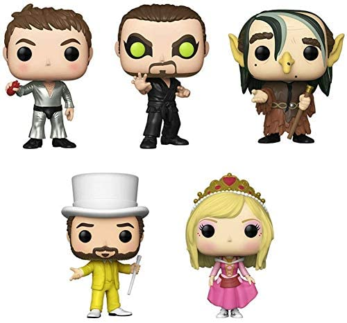 Funko Pop Set of 5 - It's Always Sunny in Philadelphia - Charlie as The Dayman, Princess Dee, Frank as Troll, Mac as The Nightman and Dennis as The Dayman in Funko Inner Case