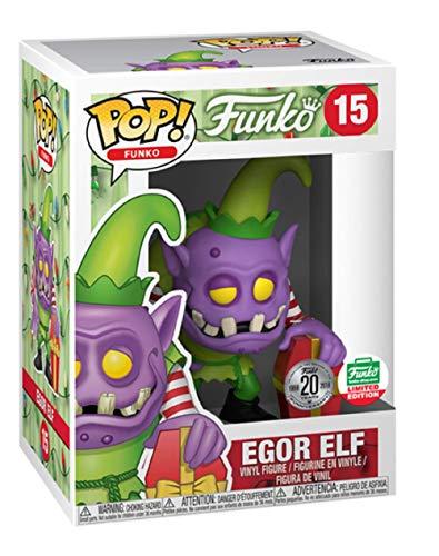 Funko Pop! Shop Spastik Plastik Egor Elf Limited Edition 20 Years #15 Excluisve Vinyl Figure