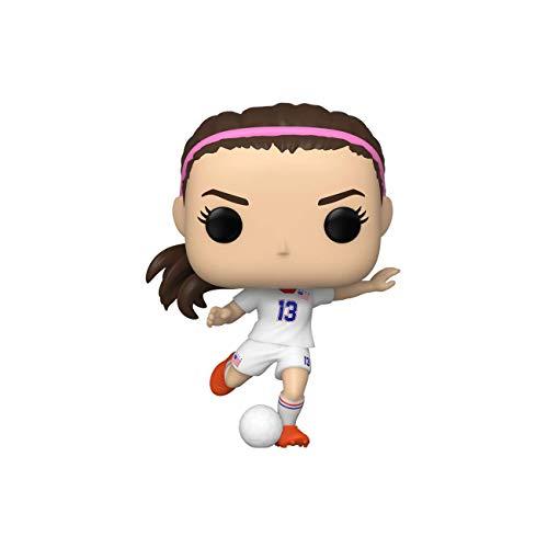 Funko Pop! Sports: The U.S Women's Soccer Team - Alex Morgan,Multicolor, 3.75 inches