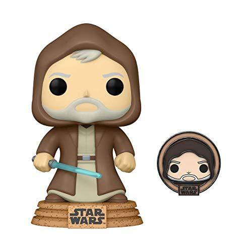 Funko Pop! Star Wars: Across The Galaxy - OBI Wan Kenobi with Special Edition Pin, Amazon Exclusive