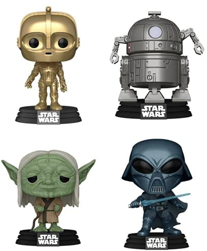 "Funko Pop! Star Wars: Concept Series Wave 1 Collectible Vinyl Figures, 3.75"" (Set of 4)"