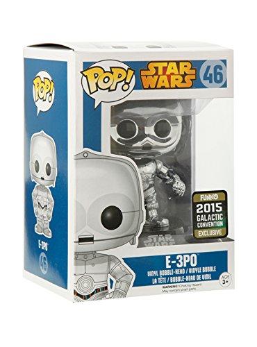 Funko Pop! Star Wars E-3P0 CHROME 2015 Galactic Convention Exclusive
