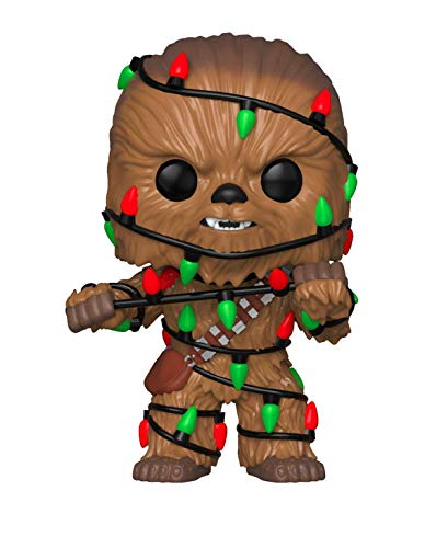 Funko Pop Star Wars: Holiday - Chewie with Lights Collectible Figure, Multicolor