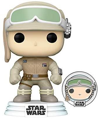 Funko Pop! Star Wars: Hoth Luke Skywalker with Pin