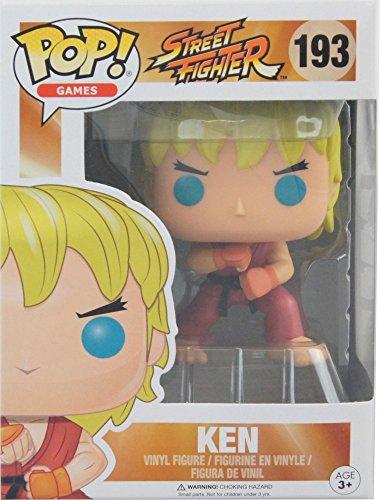 Funko Pop Street Fighter Ken Exclusive Vinyl Figure #193