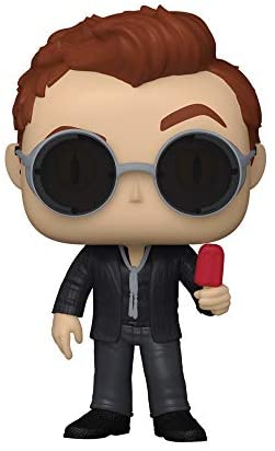Funko Pop! TV: Good Omens - Crowley with Apple (Styles May Vary)