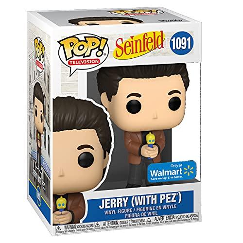 Funko Pop! TV: Seinfeld #1091 Jerry (with pez) Vinyl Figure Walmart Exclusive