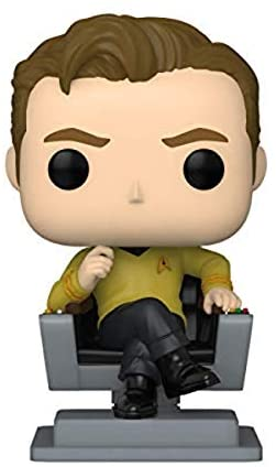 Funko Pop! TV: Star Trek - Cap Kirk in Chair