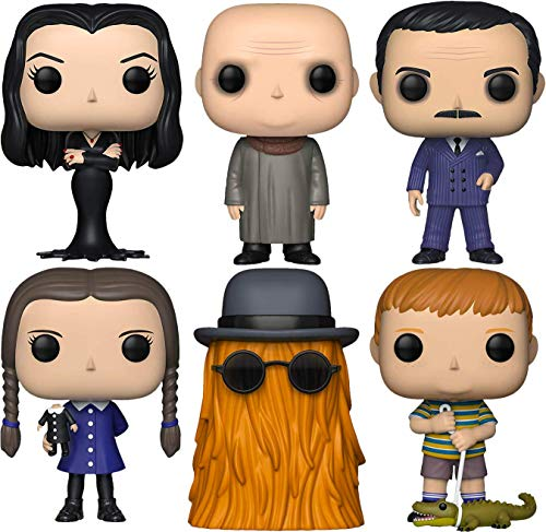 """Funko Pop! TV: The Addams Family Collectible Vinyl Figures, 3.75"""" (Set of 6)"""
