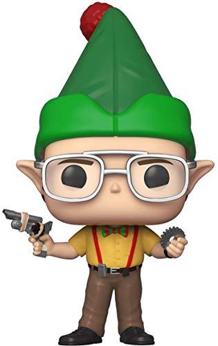 Funko Pop! TV: The Office - Dwight As Elf, Multicolor