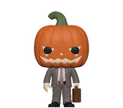 Funko Pop! TV: The Office - Dwight with Pumpkinhead