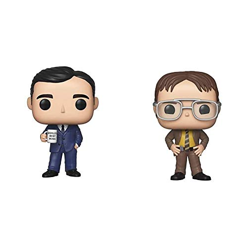Funko Pop! TV: The Office - Michael Scott & Pop! TV: The Office - Dwight Schrute