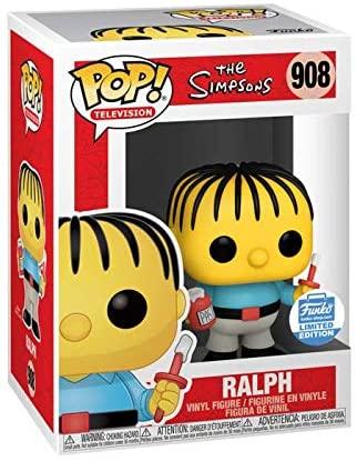 Funko Pop! TV: The Simpsons Ralph Wiggum Funko Shop Exclusive Vinyl Figure #908